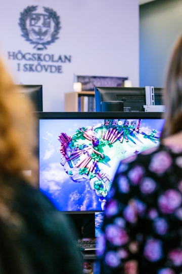 Spelstaden Skövde - Dataspelsutveckling på Högskolan i Skövde