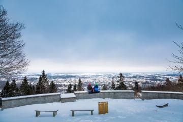 Utsiktsplatsen Billingen - Älska vintern